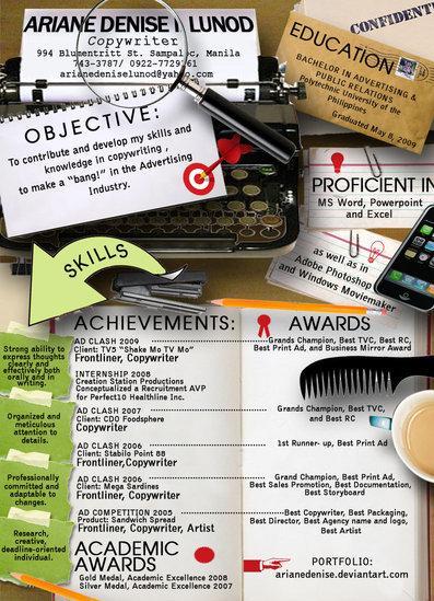 Creative Resume #1
